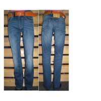 Erka mode stadskanaal heren spijkerbroeken faster jeans bruno strech azur blue