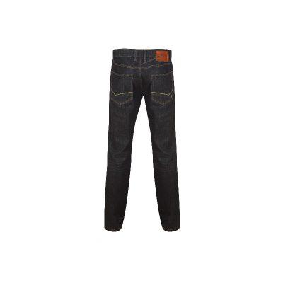 Erka mode stadskanaal heren spijkerbroeken faster jeans bruno strech deep dark achterkant