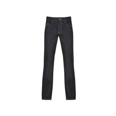 Erka mode stadskanaal heren spijkerbroeken faster jeans bruno strech deep dark vooraanzicht